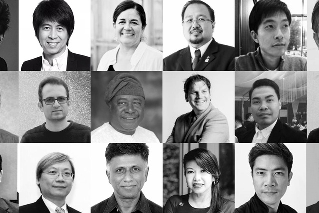 The jury for the 2017 IFLA ASIA-PAC LA Awards.