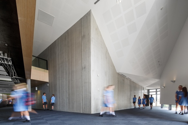 St John Paul II College by Collins Caddaye Architects.