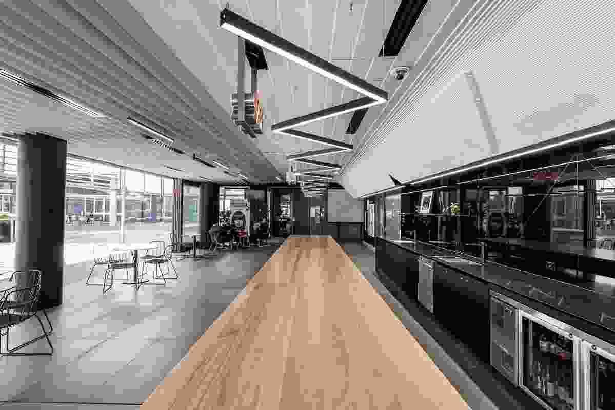 La Boite Foyer and Bar by Bureau Proberts.