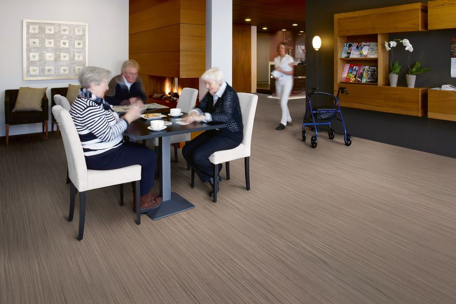 Forbo Flooring's new Marmoleum Striato