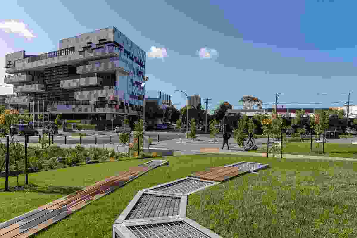 Ferrars Street Education and Community Precinct by Tract