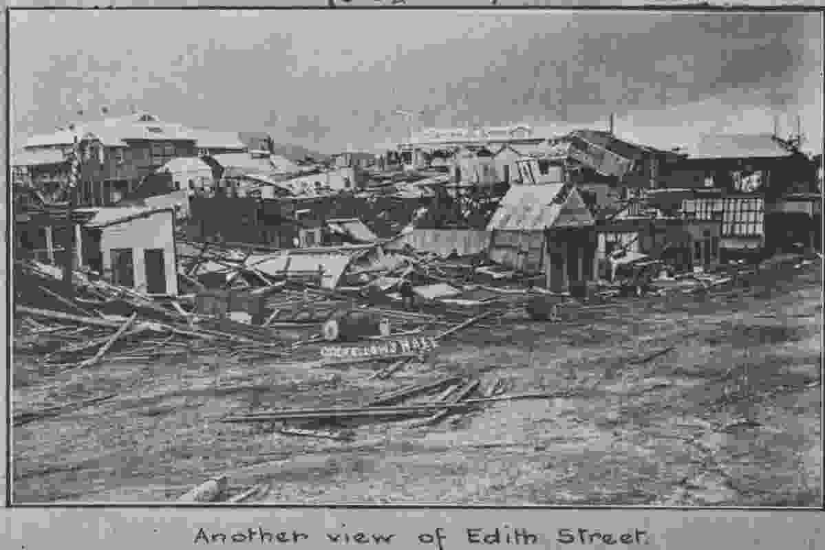 Innisfail was devastated by a tropical cyclone in 1918 and rebuilt to the style of the time.