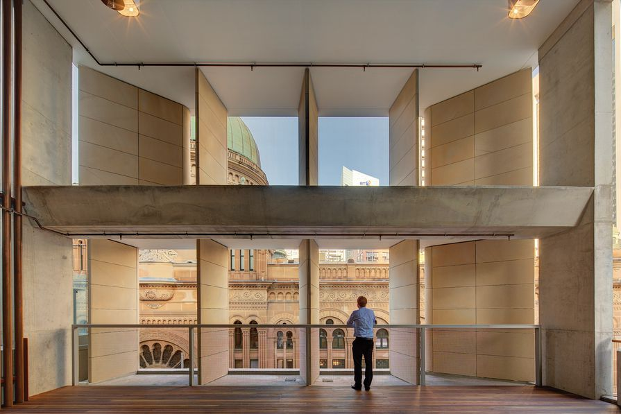 AHL Headquarters – 478 George Street by Candalepas Associates.