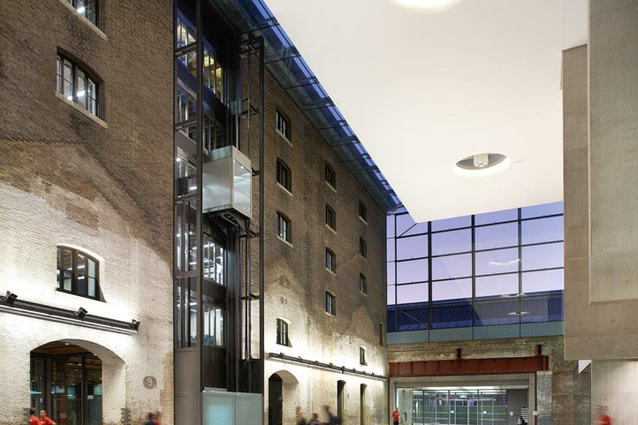 Central St Martins School of Art, London, by Stanton Williams.