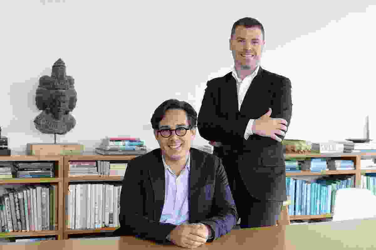 Distillery directors Matthew Shang (left) and Paul Semple (right) will join Hassell as principals.
