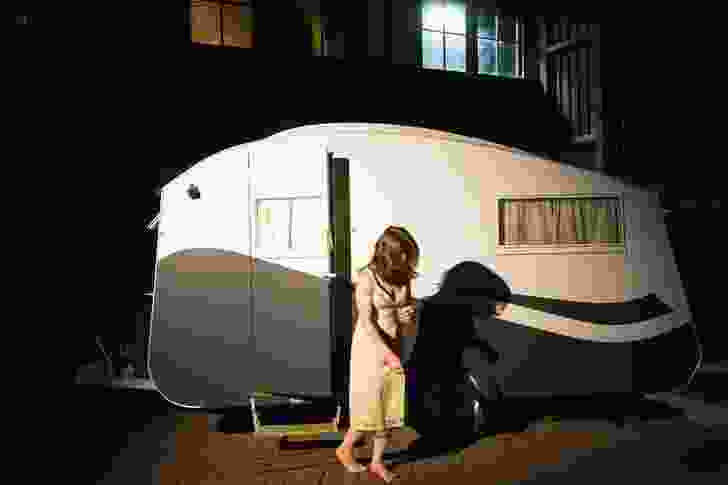 """Genevieve Lilley Architects' caravan plays with a """"typical"""" Australian memory."""