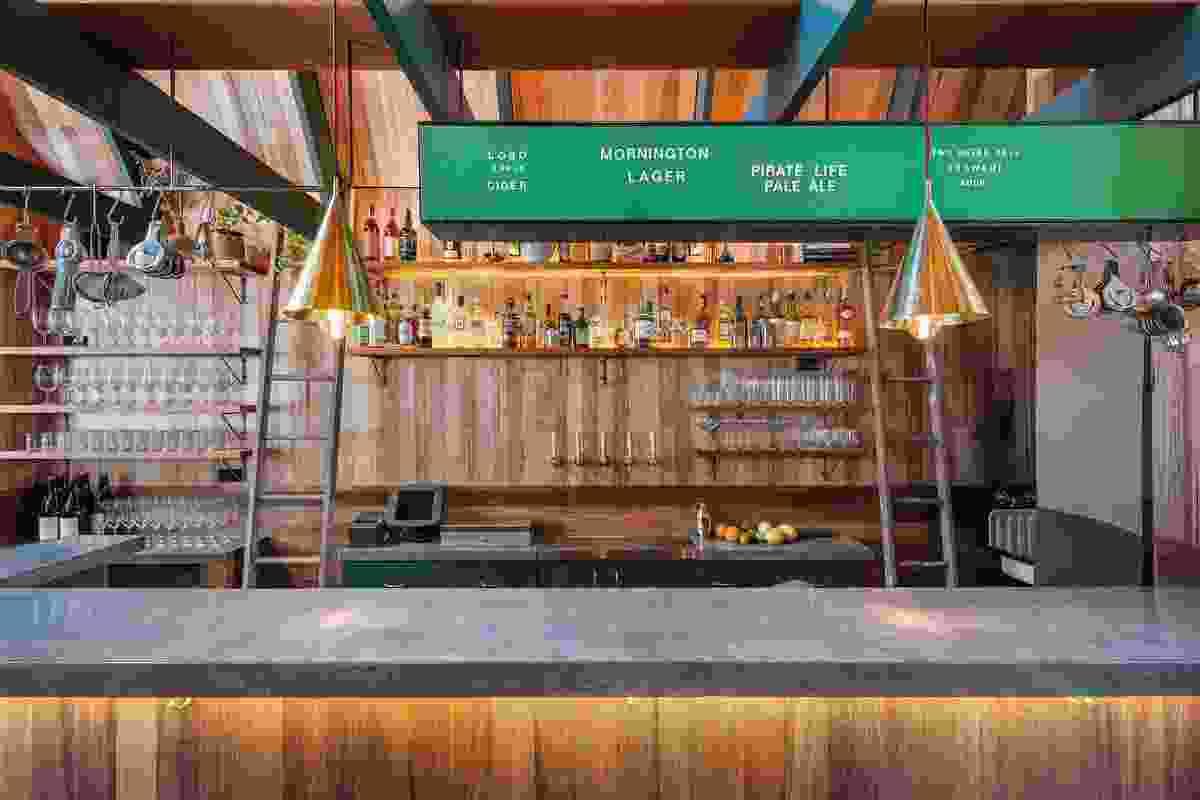 Best Bar Design: Pink Moon Saloon by Sans-Arc Studio.