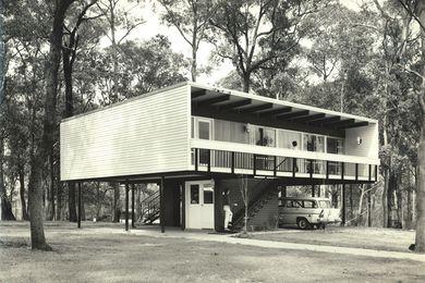 Beachcomber house, Faulconbridge, Blue Mountains, NSW. (1961)