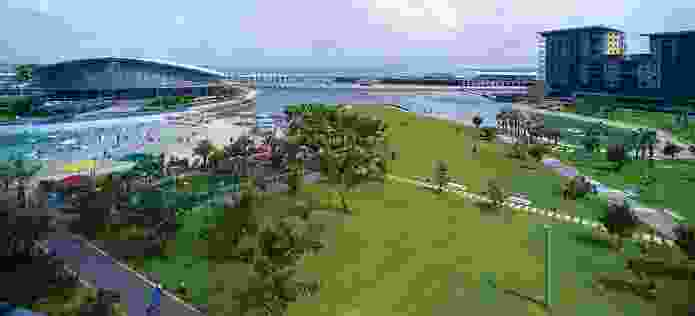 Completed Stage 1 of the Darwin Waterfront masterplan.