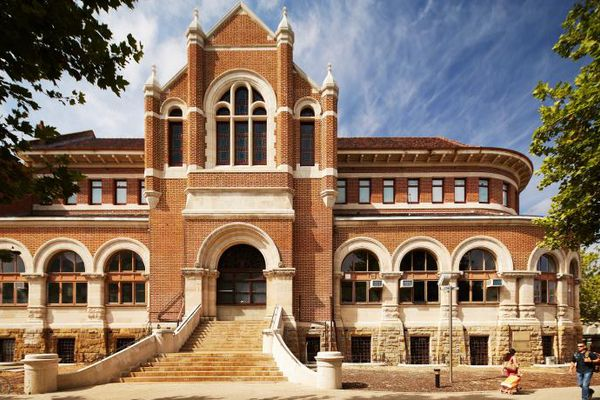 The Jubilee Wing of the existing Western Australian Museum.