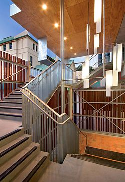 Stair access from Level 3.Image: Christopher Frederick Jones