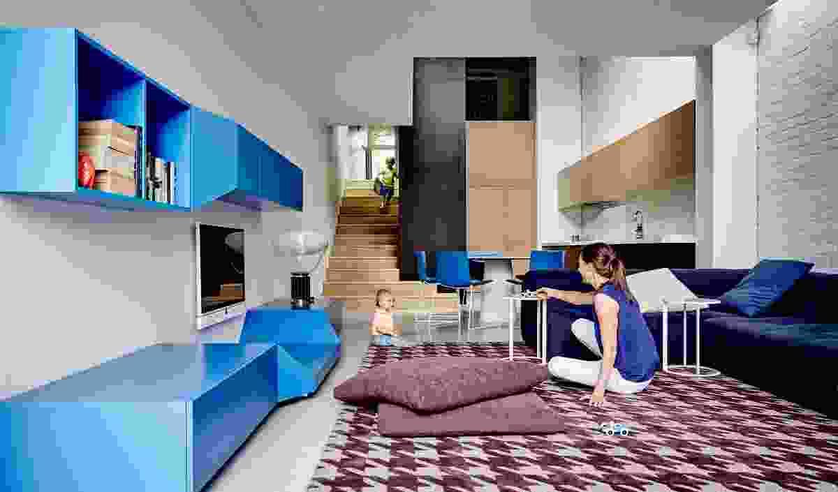 Inner City Terrace, Melbourne – 'True Blue Terrace' by Pleysier Perkins & Nexus Designs Collaboration.