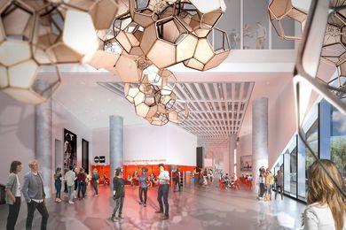 Science Gallery Melbourne by Smart Design Studio.