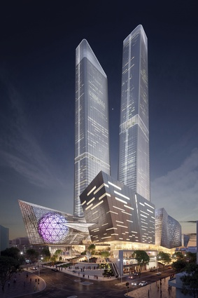 If constructed, the proposed World Trade Centre Perth will be the city's tallest building complex.