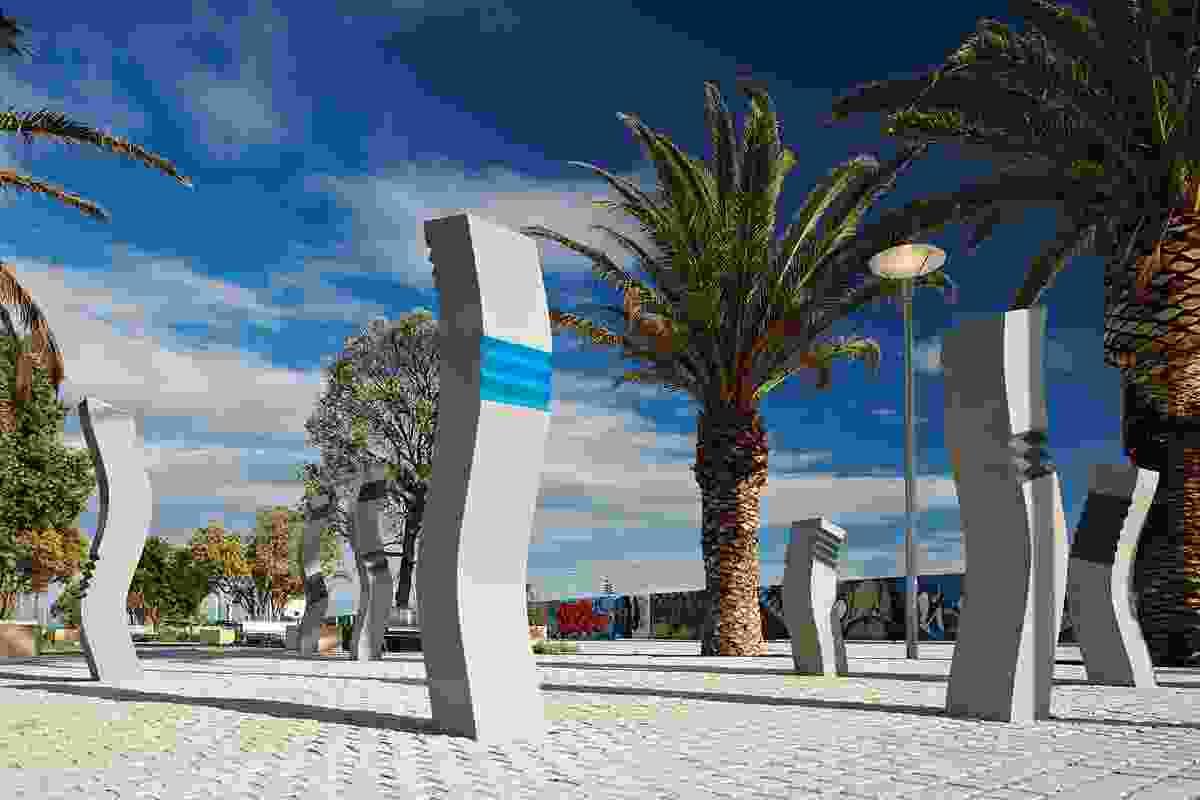 Leighton Beach redevelopment, Western Australia.