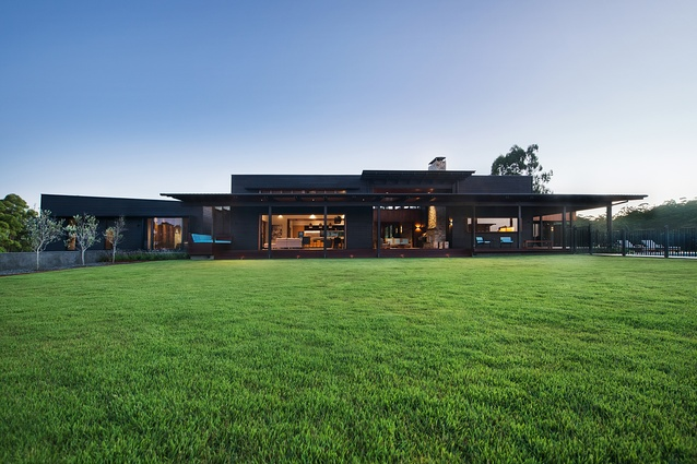 Two Roads House by Aspect Architecture.