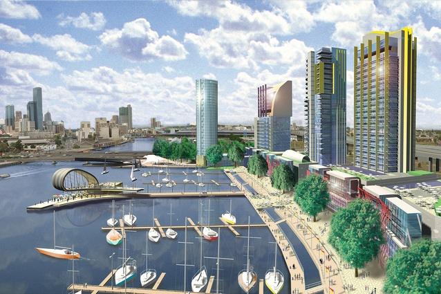 Docklands Masterplan, Melbourne (2001).