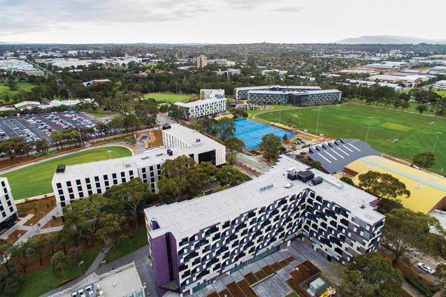 Monash University Halls of Residence | ArchitectureAU