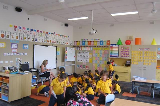 Classroom Design Australia : Classroom acoustics improved with csr ecophon ceiling