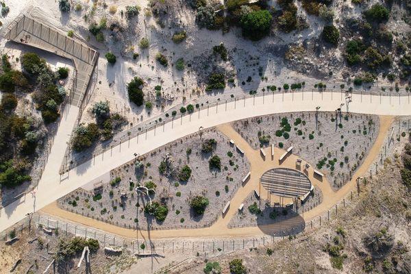 Minda Coast Park by Oxigen, a winner in the South Australian Landscape Architecture Awards.
