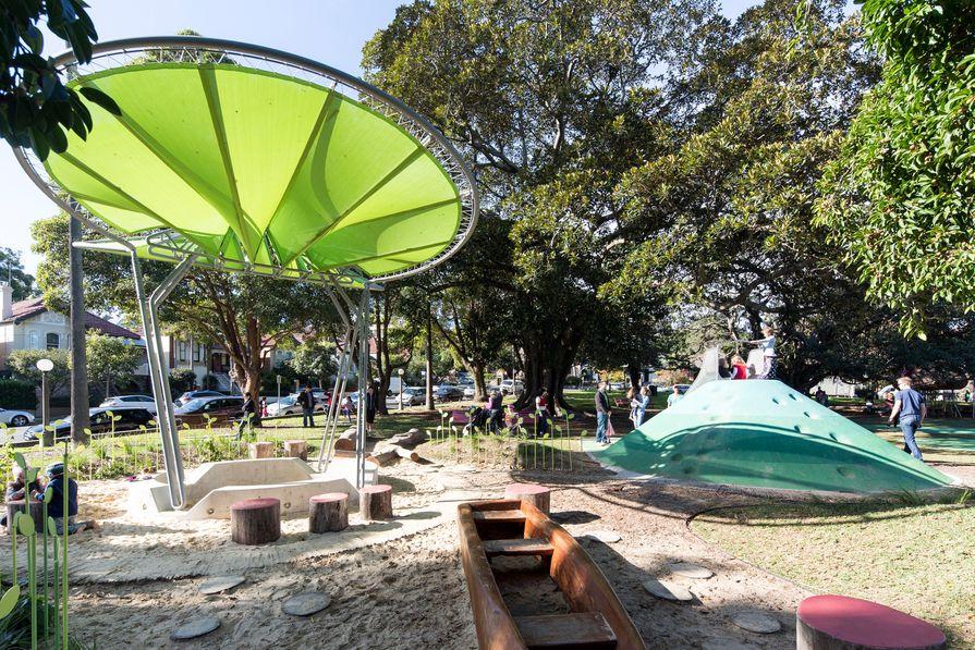 Jubilee Playground by Sue Barnsley Design.