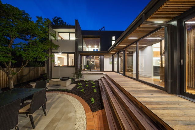 Harvey Taylor House by Philip Leeson Architects.