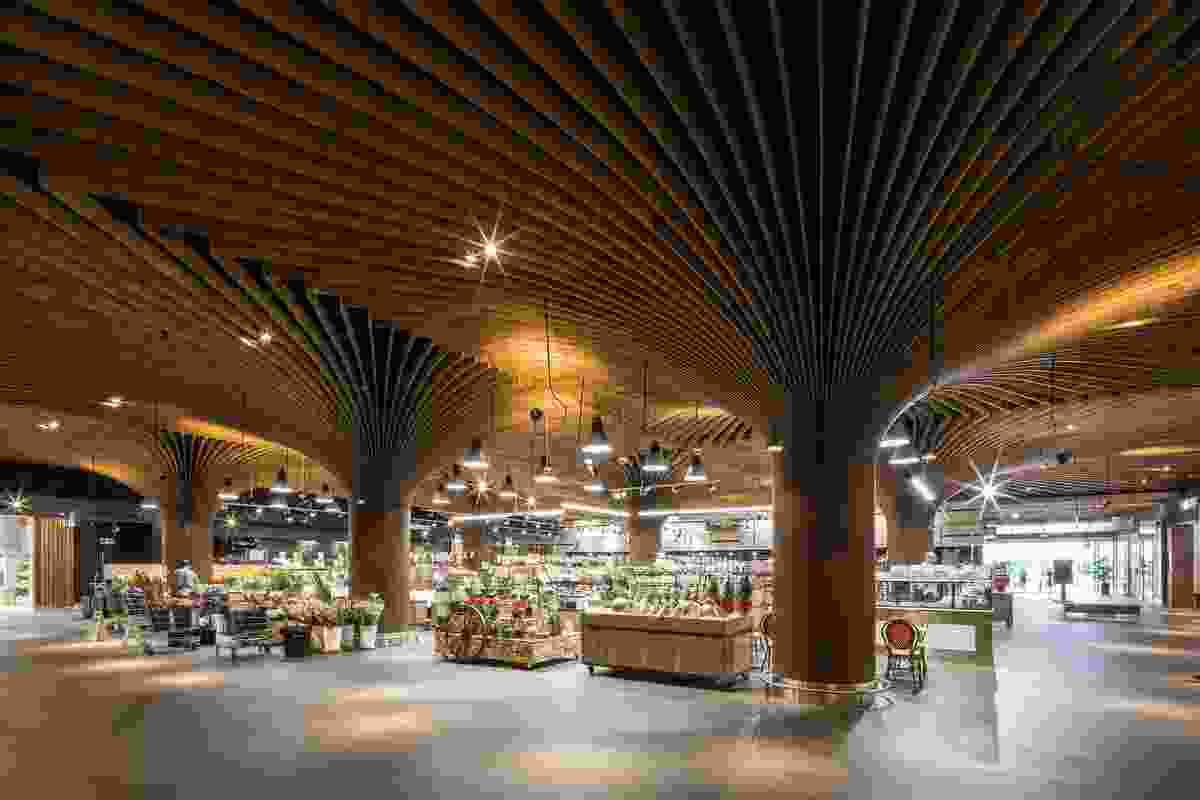 East Village Urban Marketplace by Koichi Takada Architects.