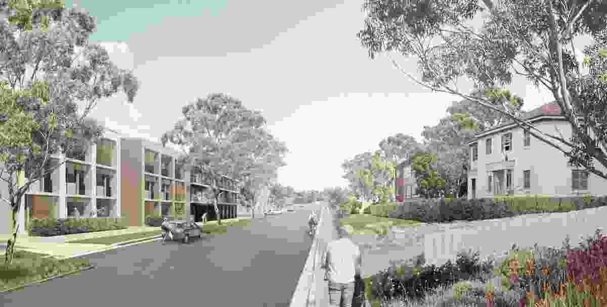 Turramurra Community Hub Masterplan by CHROFI in association with Ku-ring-gai Council.