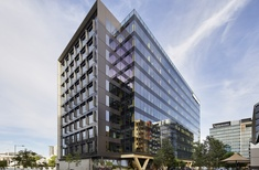 Australia's tallest engineered timber office building opens