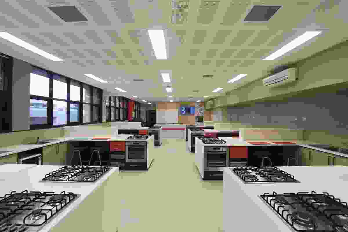 Eltham Catholic Ladies College Food Technology and Science refurbishment Williams Ross Architects.