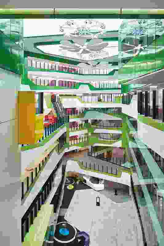 Perth Children's Hospital by JCY Architects and Urban Designers, Cox Architecture and Billard Leece Partnership with HKS.