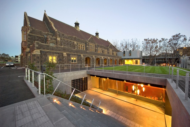 Melbourne Grammar School Memorial Hall by Peter Elliott Architecture and Urban Design.
