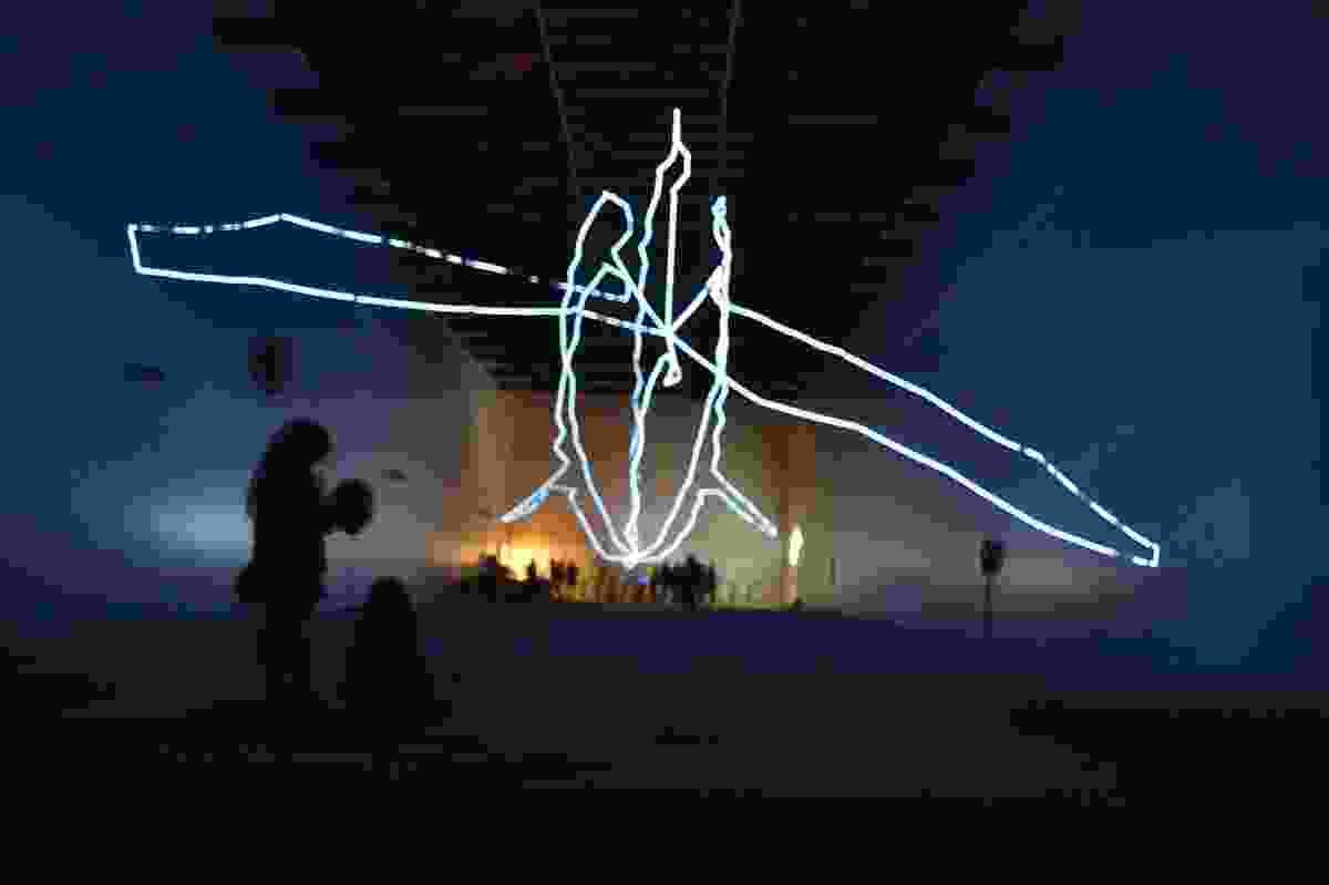 Meet Your Energy Avatar by Rory Hyde and Katja Novitskova.