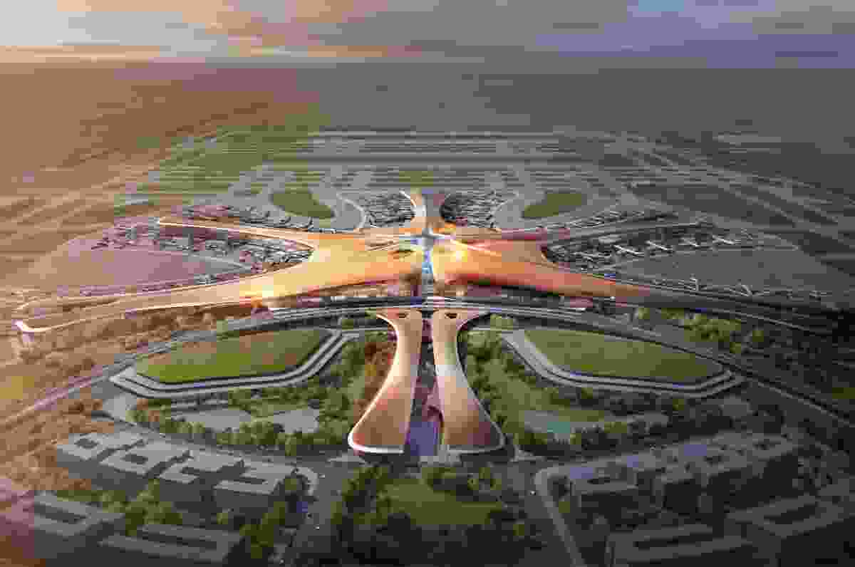 The proposed Beijing Daxing Airport is set to become the largest airport in the world.