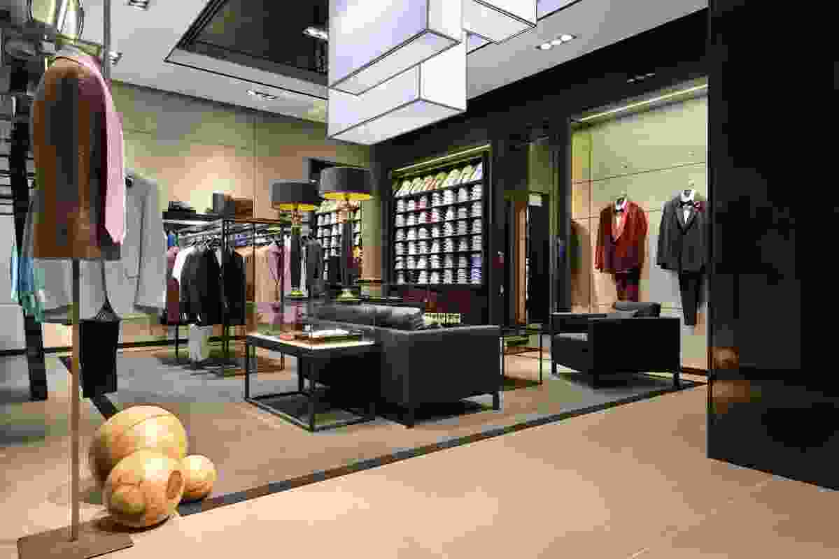 Hugo Boss's flagship Sydney store by Sidgreaves.