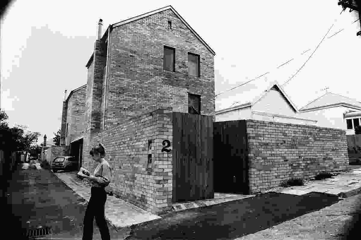 "The duplex at Raphael Street in Subiaco was the first project designed, built and financed by Brian Klopper and Bob Gare. It is commonly referred to as the ""flour mills."""