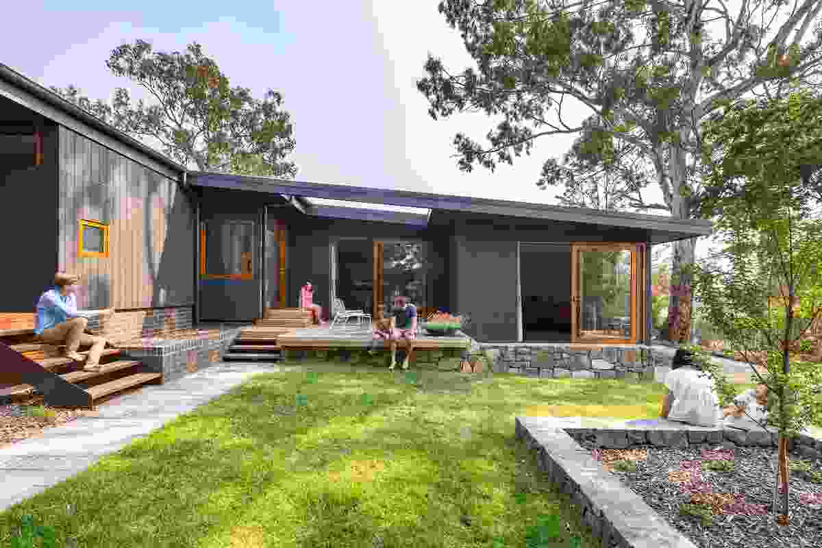 Stepping House by Rob Henry Architects.