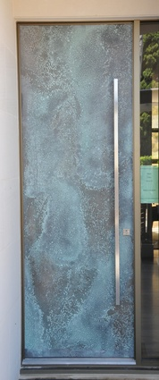 The Viper door. & New entry doors from Axolotl | ArchitectureAU