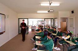 A Grade 5/6 classroom.