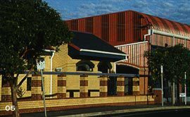 Oakleigh Fire Station, 1993. Photograph Peter Hyatt.