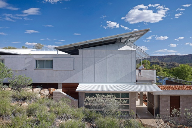 Desert House by Dunn & Hillam Architects.