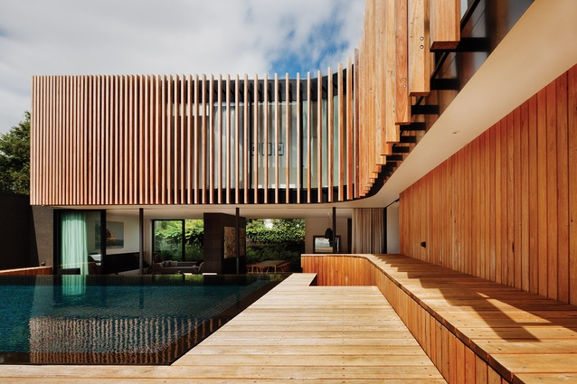 House Alteration and Addition over 200m² – Kooyong Residence by Matt Gibson Architecture + Design.