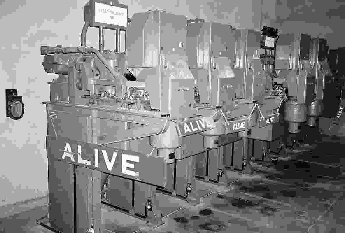 Alive: the substation.