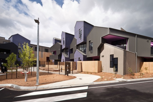 McIntyre Drive Social Housing, Altona by MGS Architects.