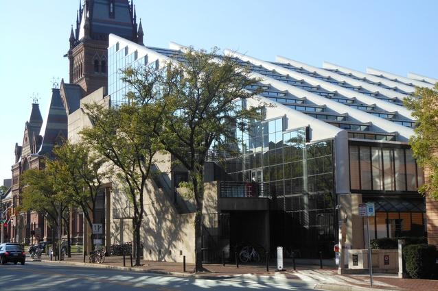 Gund Hall, Harvard University, 1972.