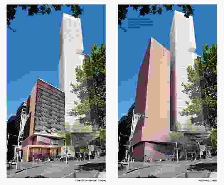 One of the Kerry Hill Architects-designed residential towers will be scrapped and replace with a hotel.