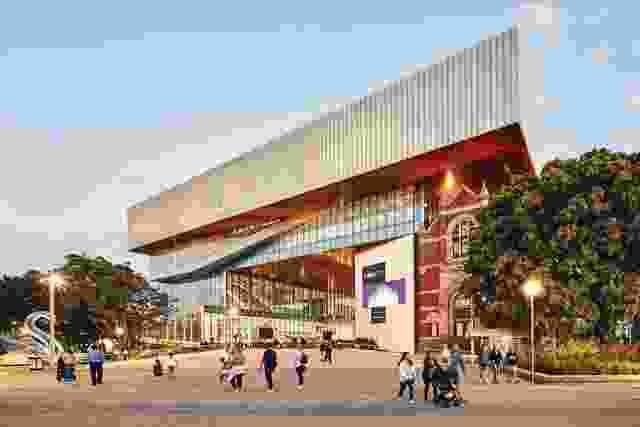 新建筑通过义规定和未对准的现有背景合理化流通。