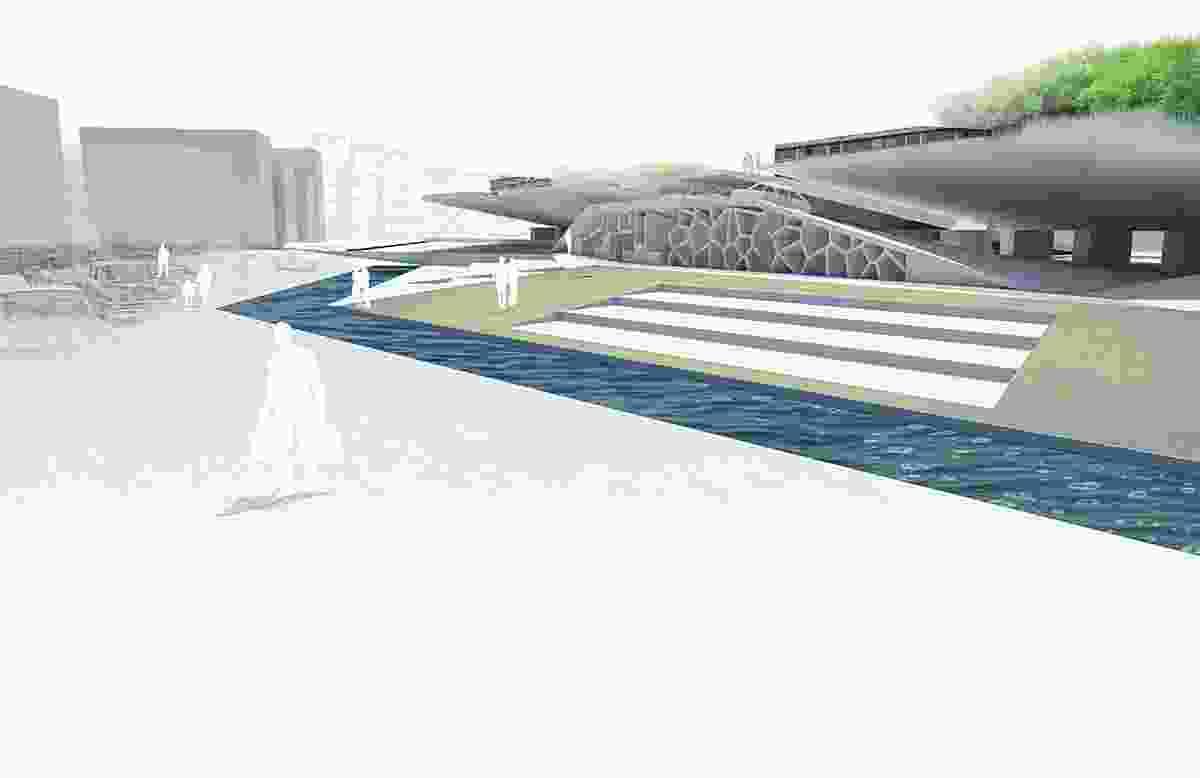 Fish to Birds: Waterfront Development Project, Porto Alegre, Brazil by Mathew Hamilton and Niki Schwabe, RMIT University.