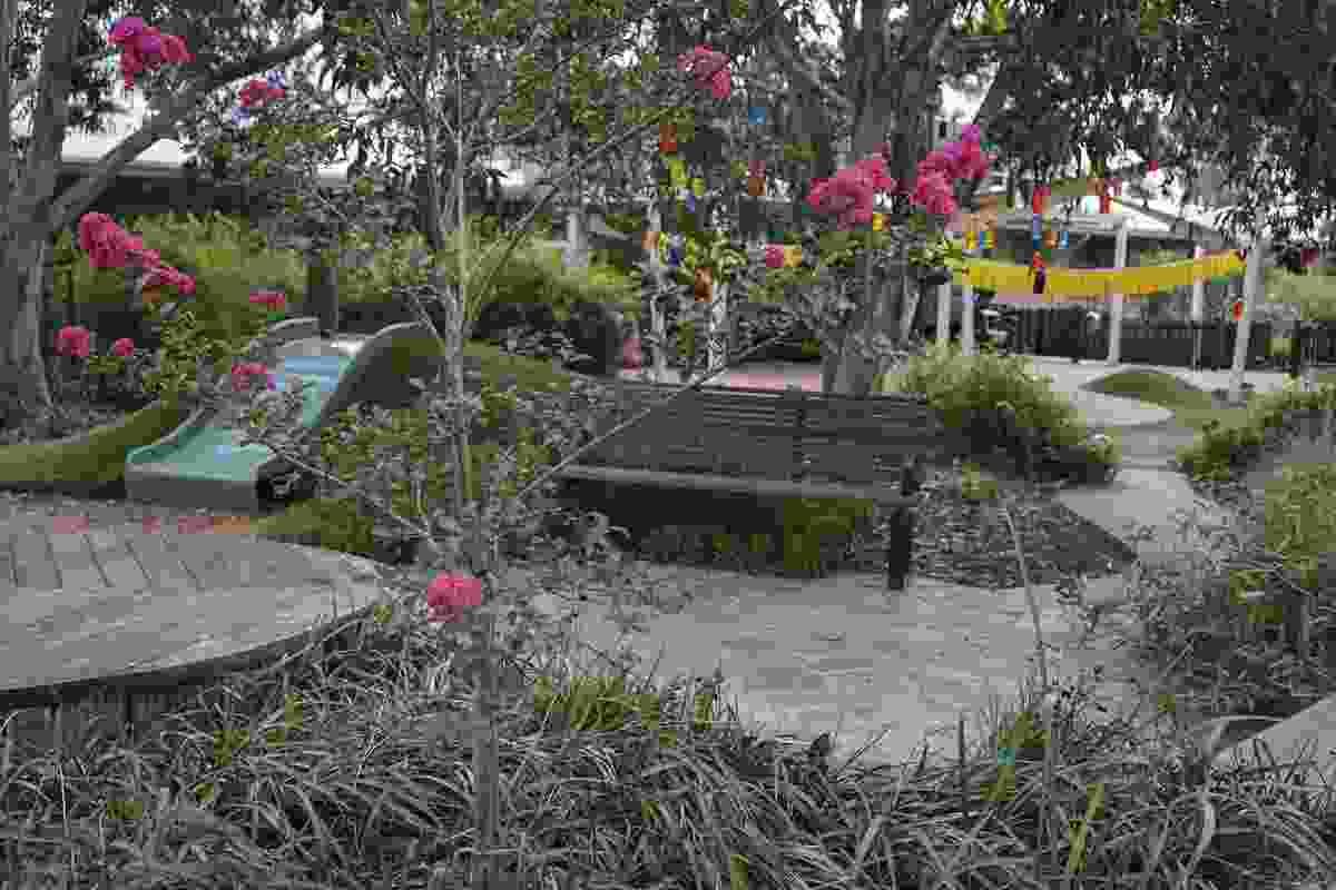 Jona Children's Sensory Garden by Jeavons Landscape Architects