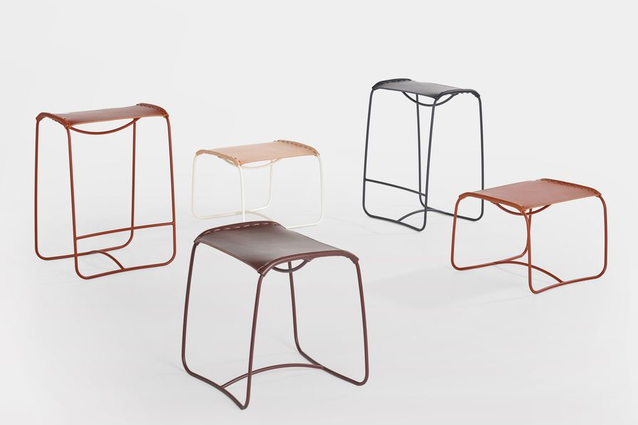 Perching stools by StudioIlse for Artifort.